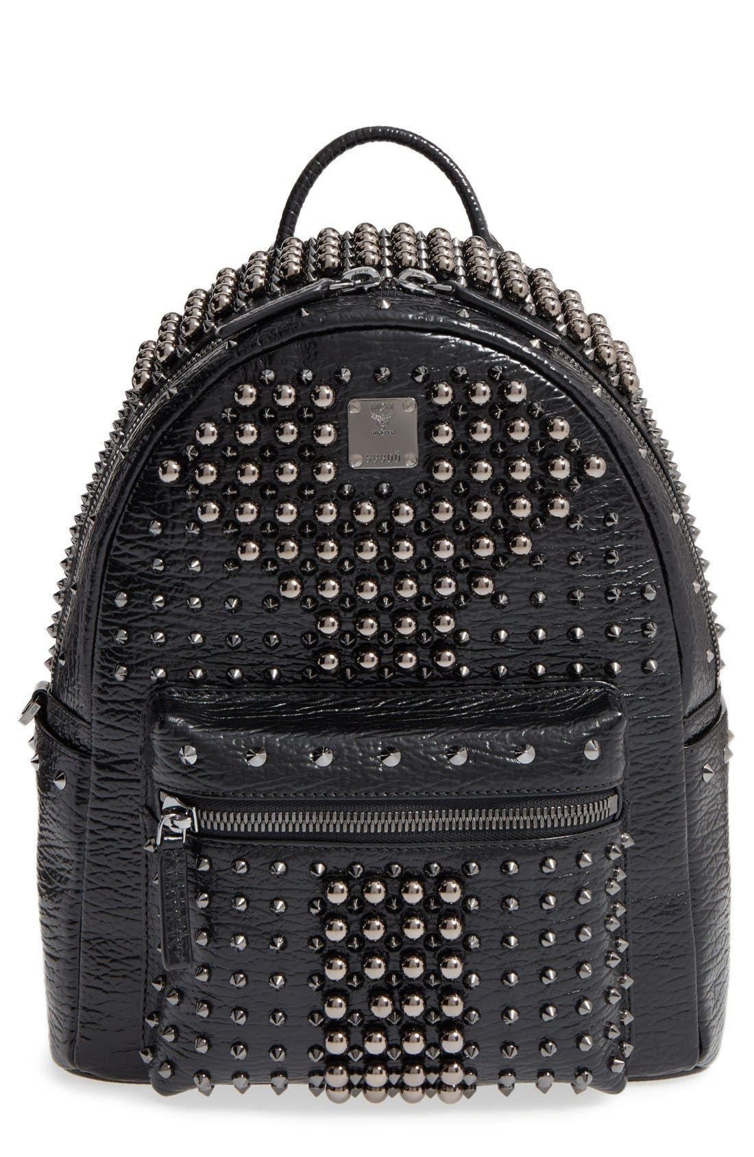 MCM Small Stark Studs Backpack