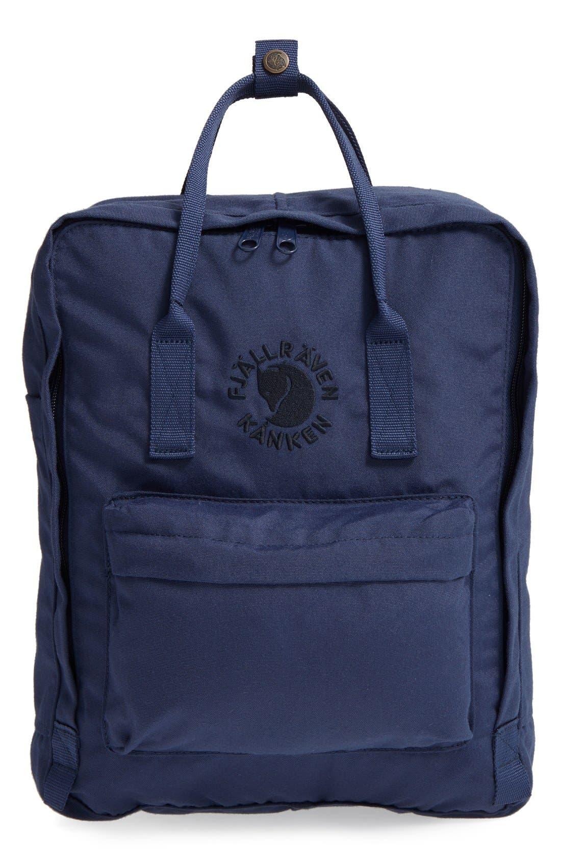 Fjällräven Re-Kånken Water Resistant Backpack