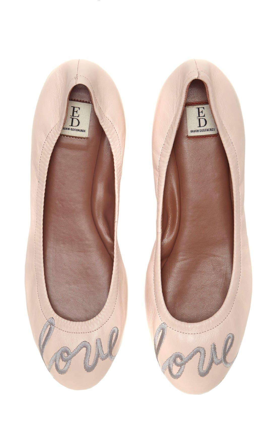 Alternate Image 1 Selected - ED Ellen DeGeneres 'Langston' Ballet Flat (Women)