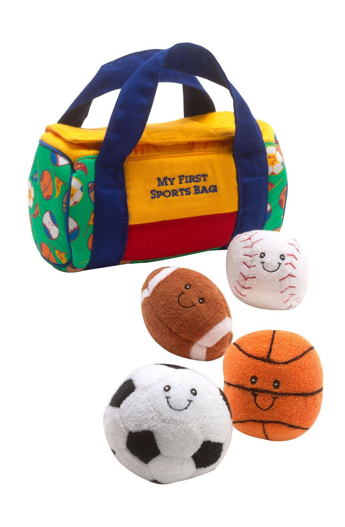 Alternate Image 1 Selected - Gund 'My First Sports Bag' Play Set