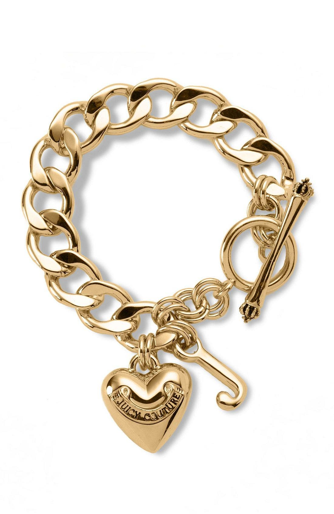 Alternate Image 1 Selected - Juicy Couture Starter Charm Bracelet