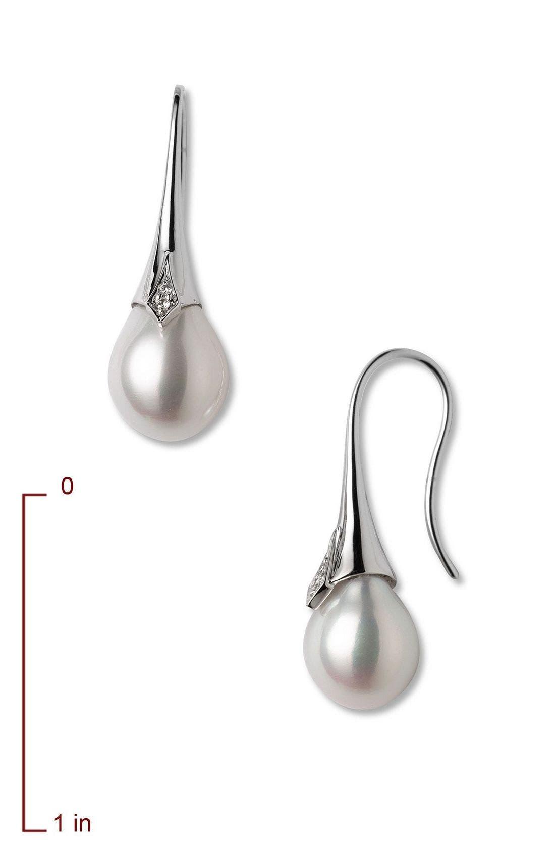 Alternate Image 2  - Mastoloni Cultured Pearl Drop Earrings