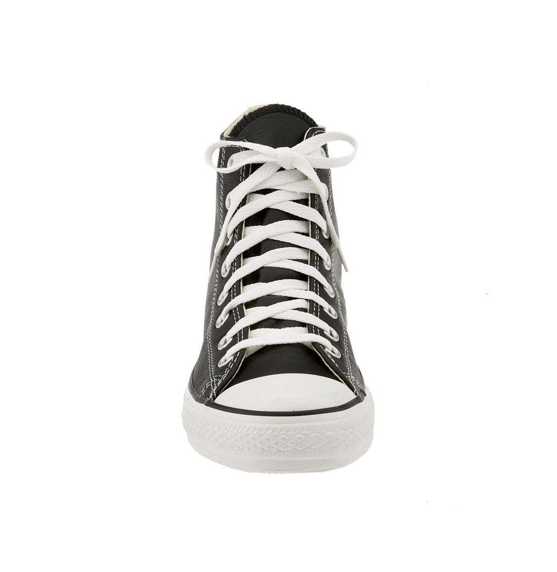 Alternate Image 2  - Converse Chuck Taylor® All Star® Leather High Top Sneaker (Men)