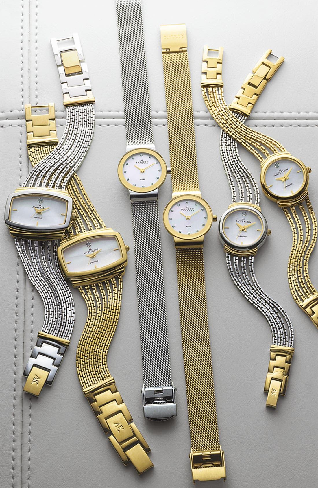 Alternate Image 2  - Skagen Mother of Pearl Bracelet Watch