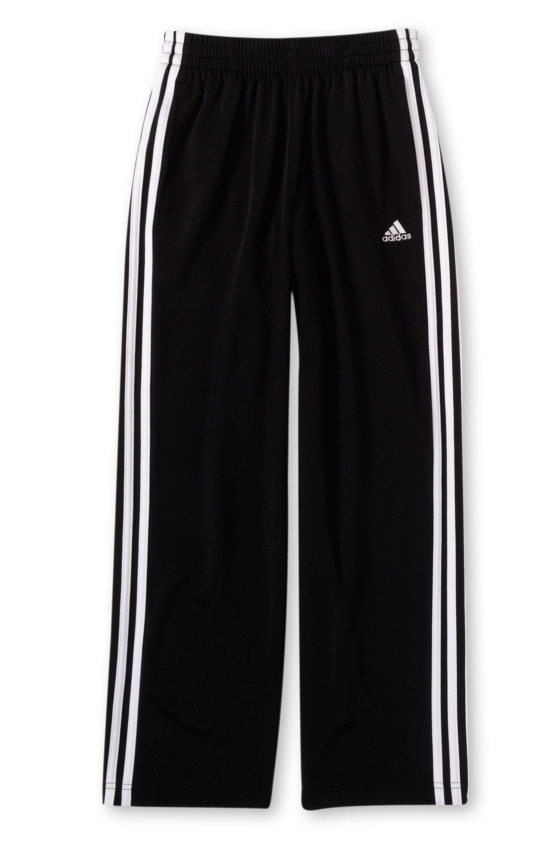 Alternate Image 1 Selected - adidas 3-Stripes Pants (Big Boys)