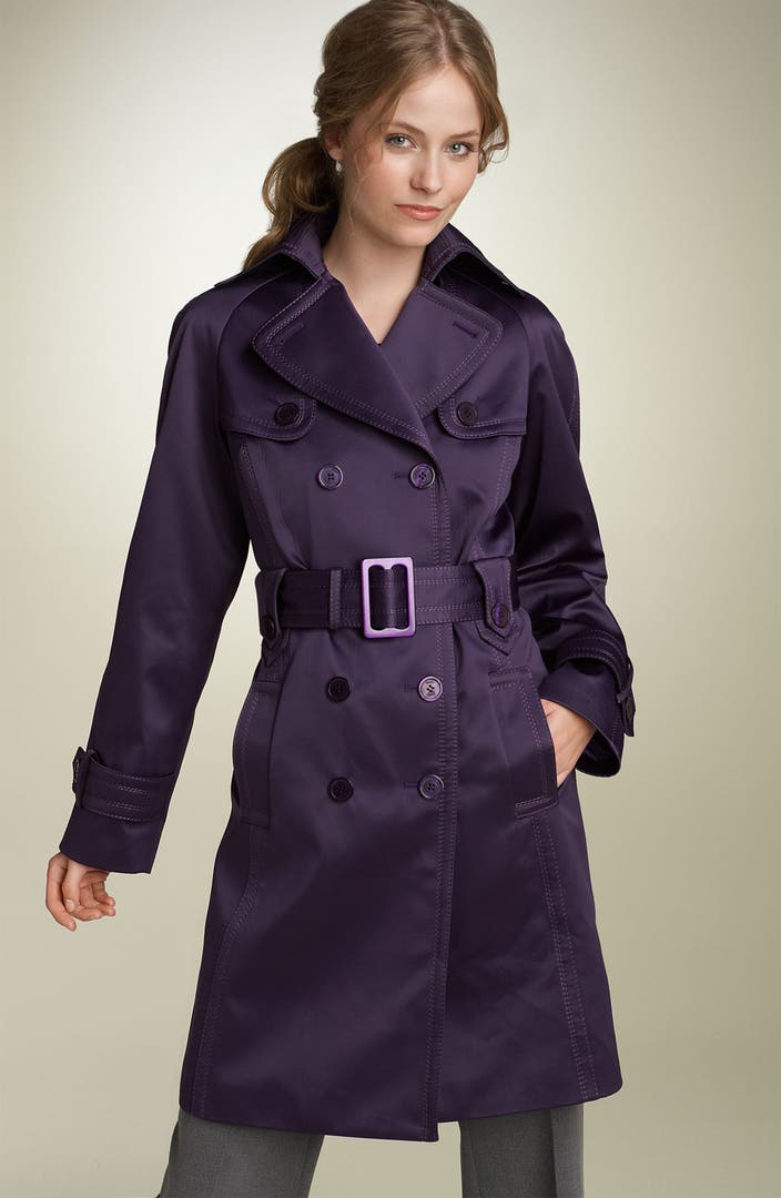 Jessica Simpson Double Breasted Trench Coat Nordstrom