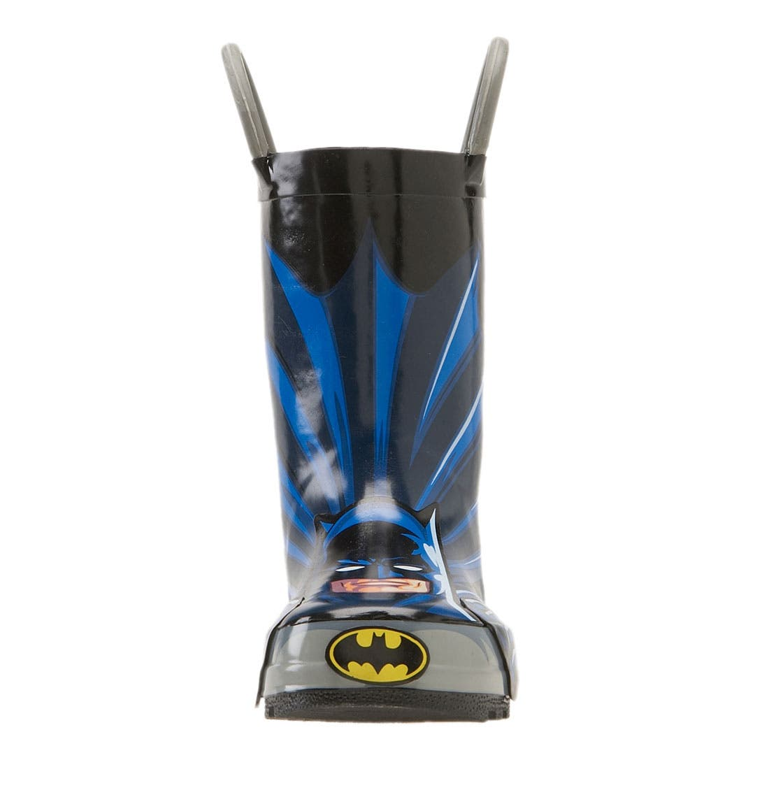 Alternate Image 3  - Western Chief 'Batman' Rain Boot (Walker, Toddler, Little Kid & Big Kid)
