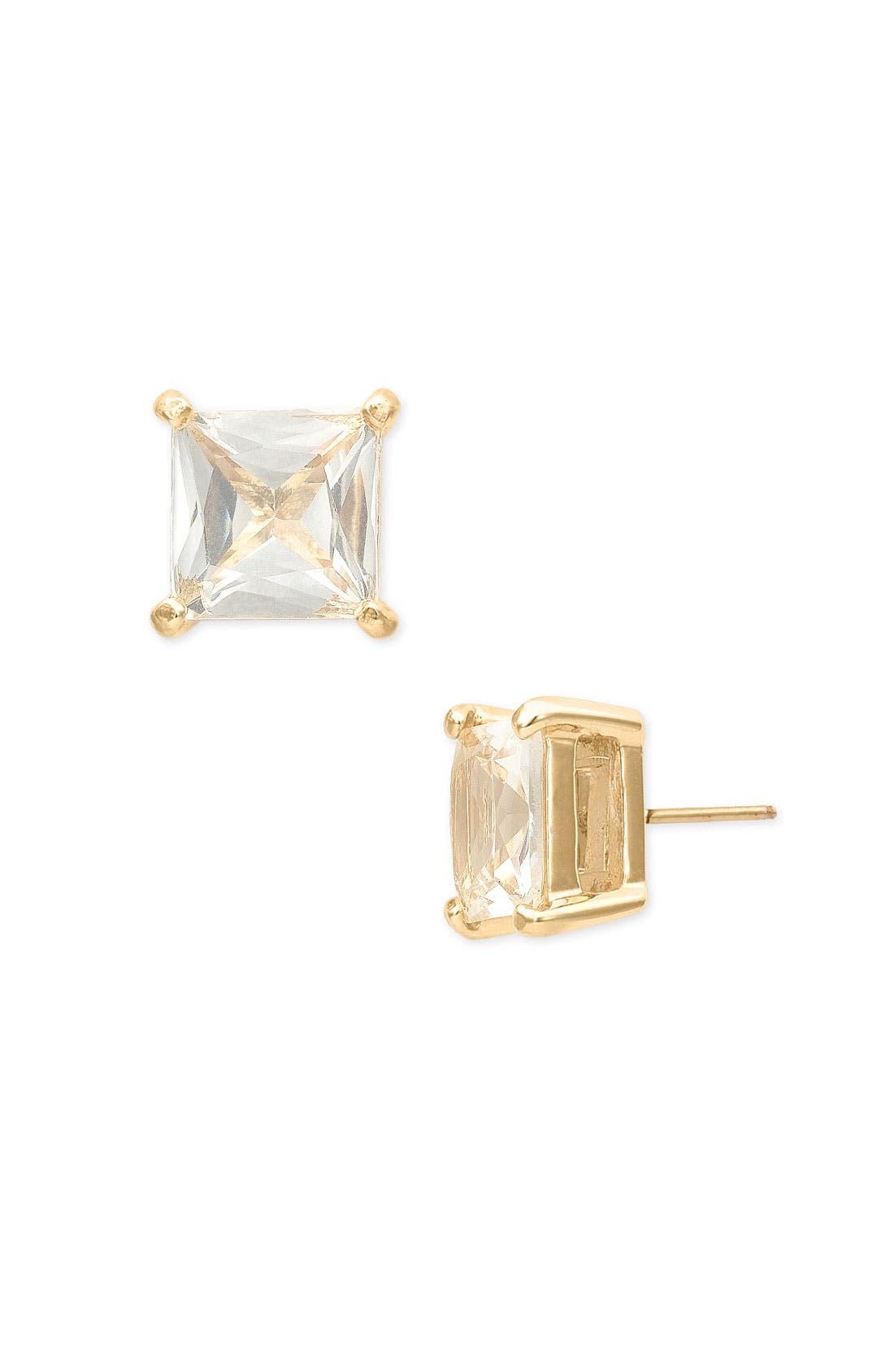 Alternate Image 1 Selected - kate spade new york 'sweet nothings' square stud earrings