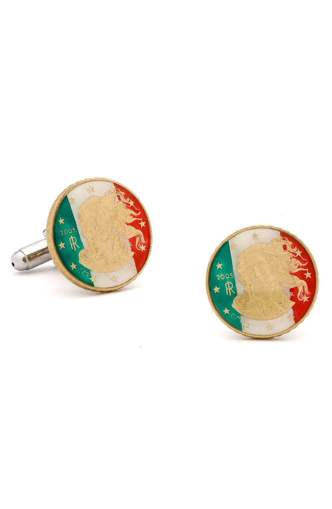 Alternate Image 1 Selected - Penny Black 40 Italian Coin Cuff Links