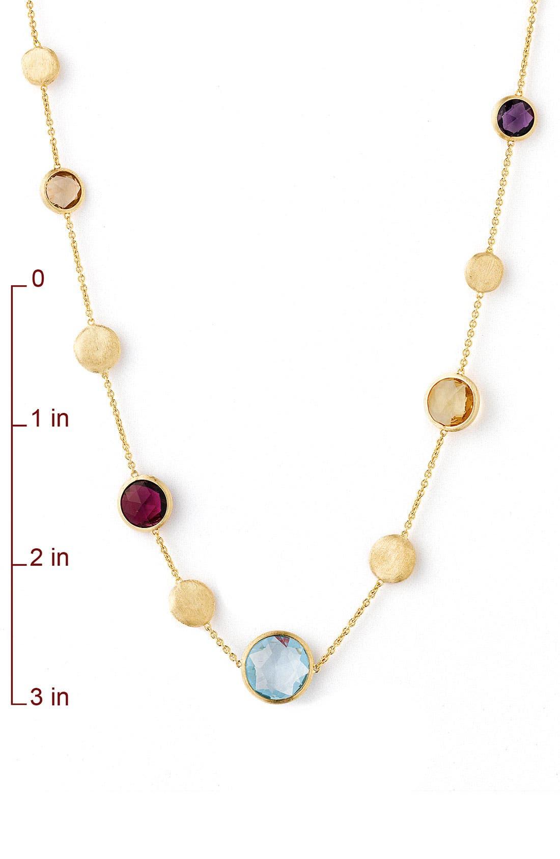 Alternate Image 2  - Marco Bicego 'Jaipur' Single Strand Semiprecious Necklace