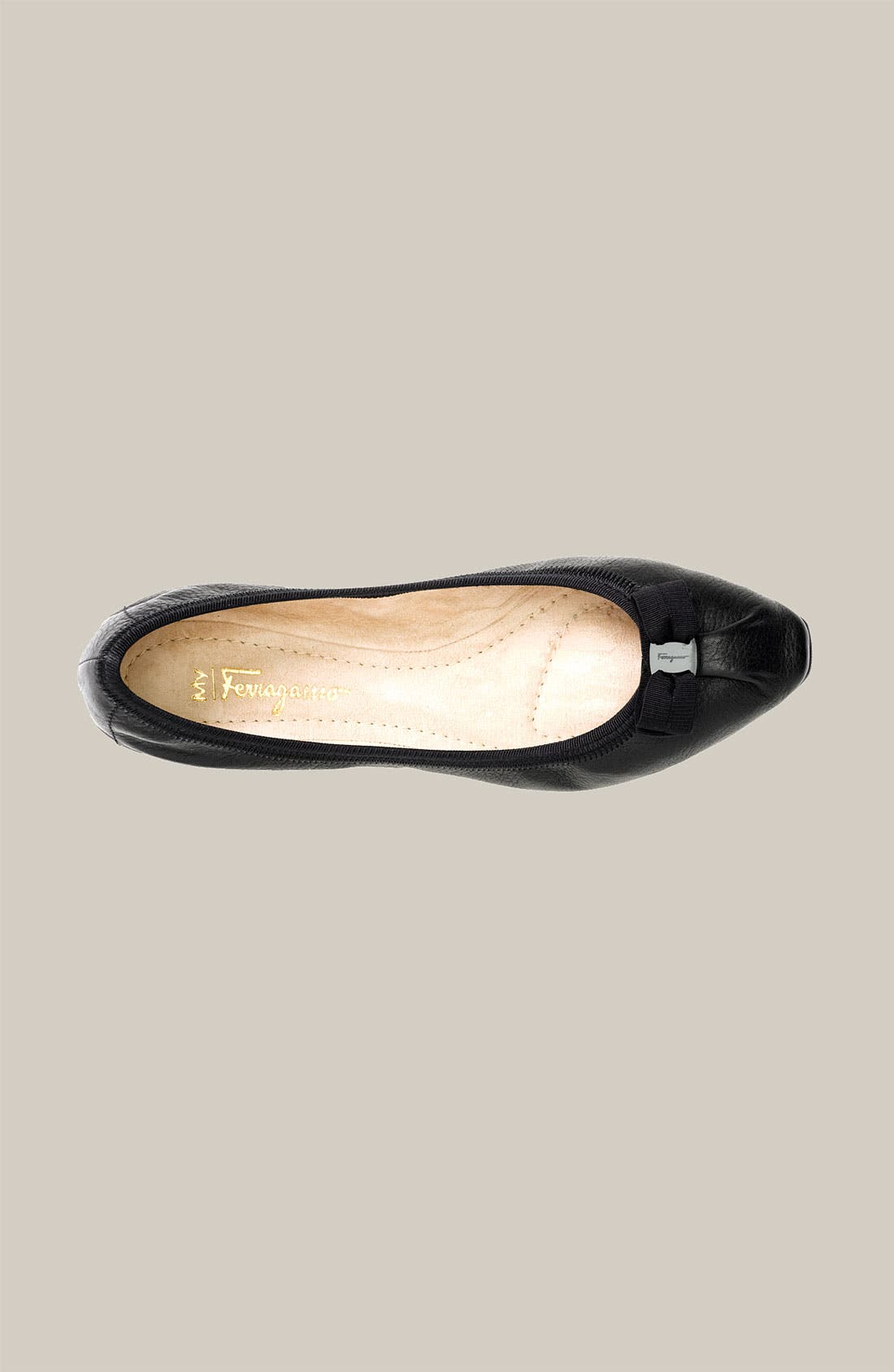 Alternate Image 3  - Salvatore Ferragamo Scrunch Skimmer Flat (Women)