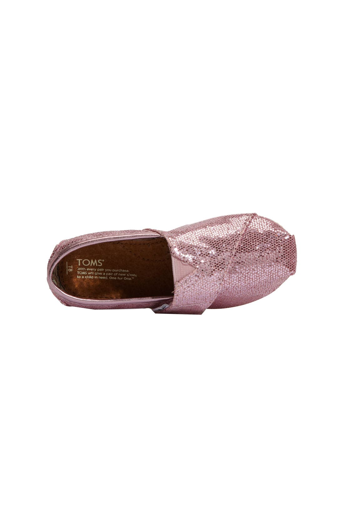 Alternate Image 3  - TOMS 'Classic - Tiny' Canvas Slip-On (Toddler)