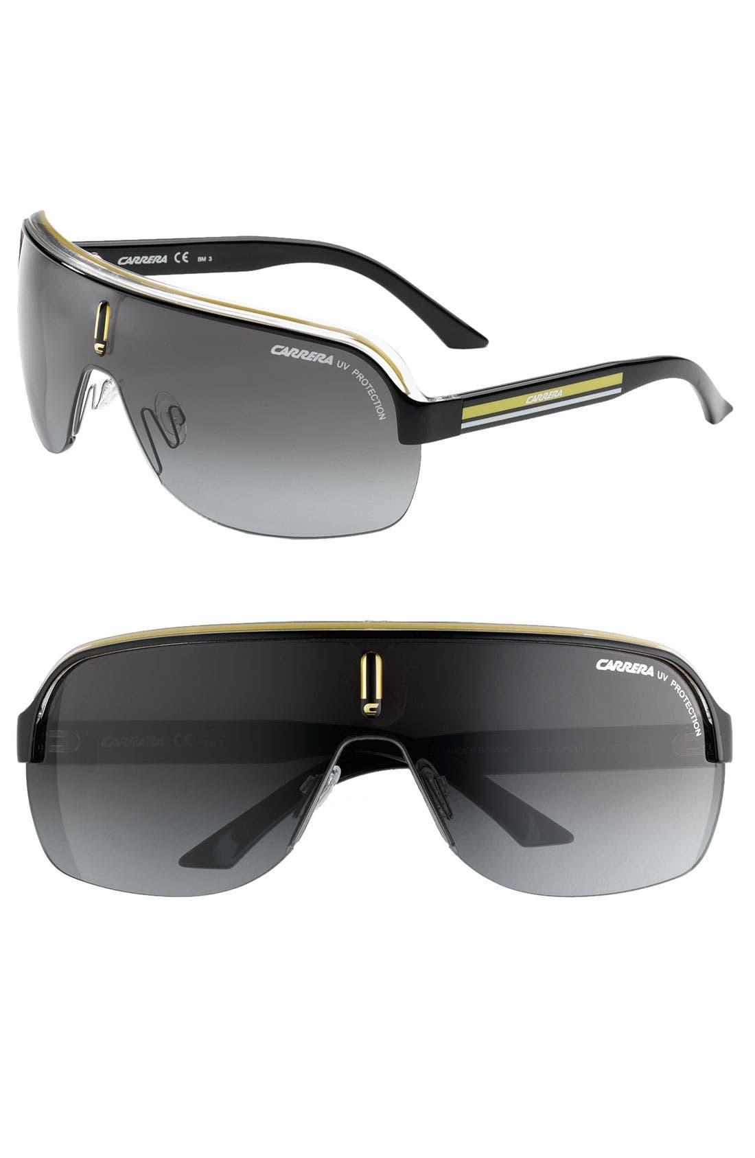 Alternate Image 1 Selected - Carrera Eyewear 99mm Shield Sunglasses