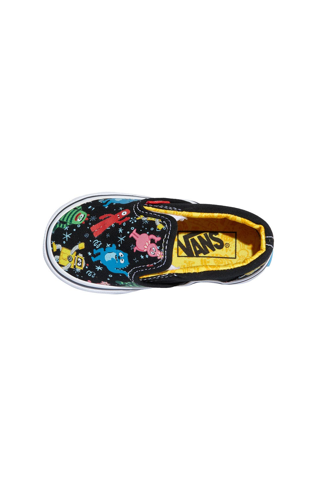 Alternate Image 3  - Vans 'Classic' Print Slip-On (Walker, Toddler & Little Kid)