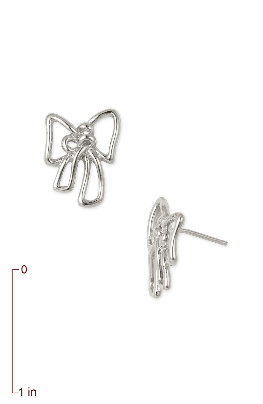 Alternate Image 2  - MARC BY MARC JACOBS 'Classic Marc' Bow Stud Earrings