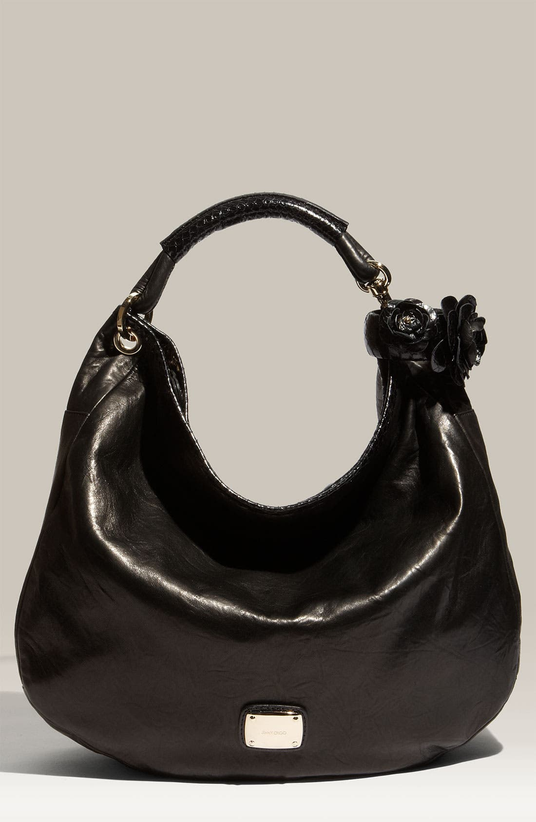 Alternate Image 1 Selected - Jimmy Choo 'Sky' Leather Hobo