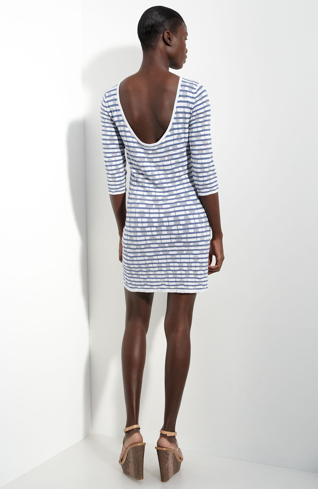 Alternate Image 2  - Twenty8Twelve 'Tuesday' Devore Knit Dress