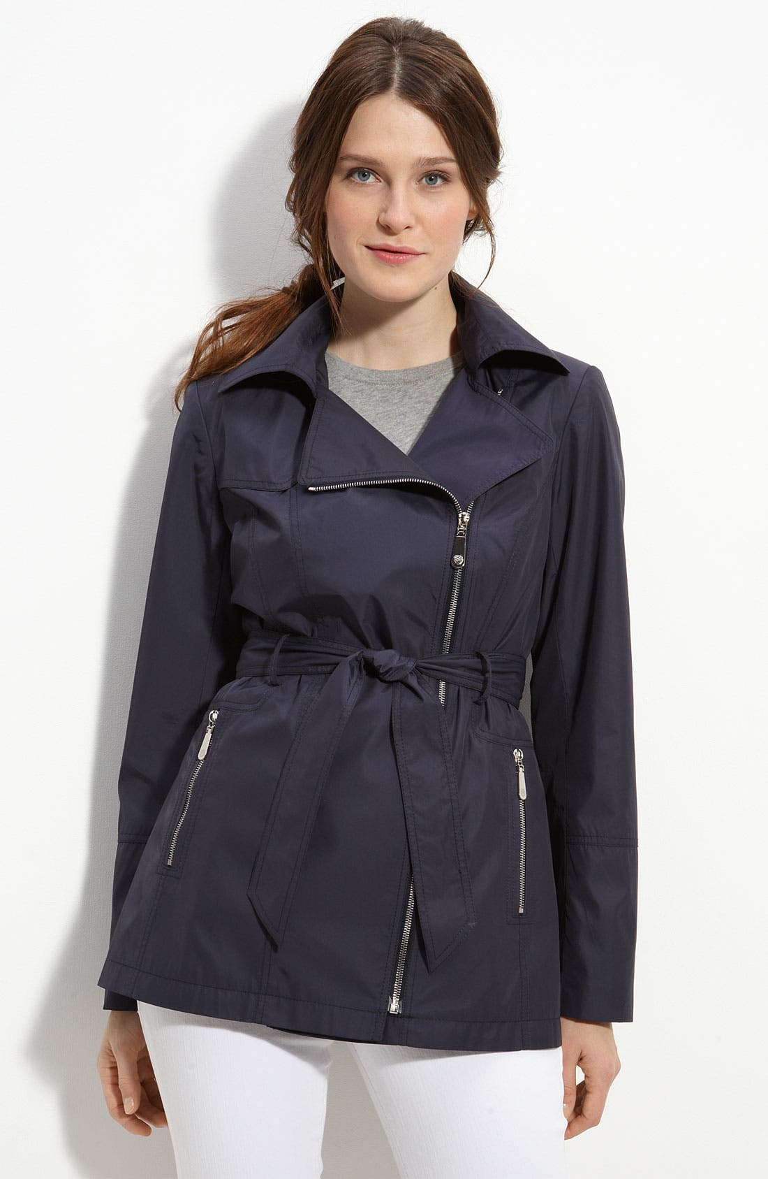 Alternate Image 1 Selected - Vince Camuto Asymmetrical Belted Coat