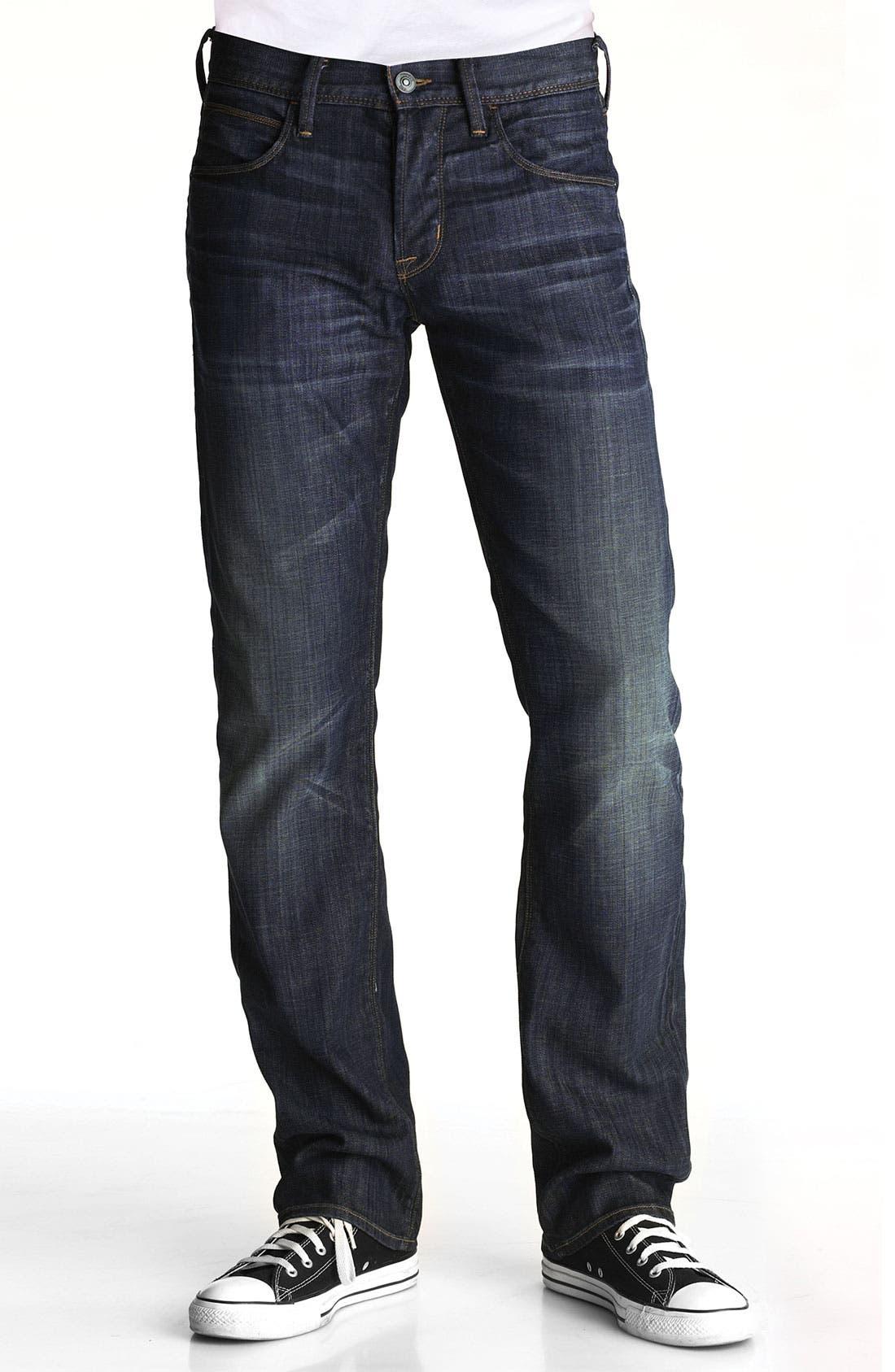 Alternate Image 2  - Hudson Jeans Straight Leg Jeans (Smithfield)