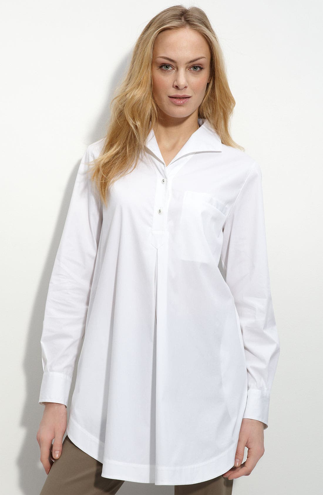 Alternate Image 1 Selected - Lafayette 148 New York 'Excursion' Tunic