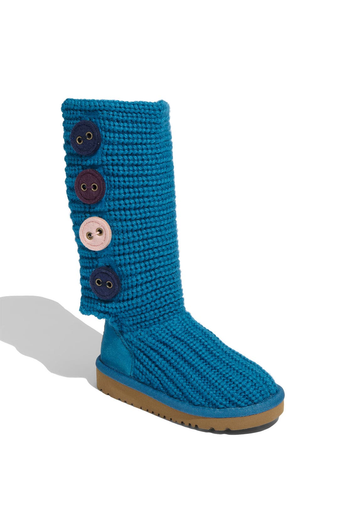Alternate Image 1 Selected - UGG® Australia 'Cardy II' Crochet Boot (Toddler, Little Kid & Big Kid)
