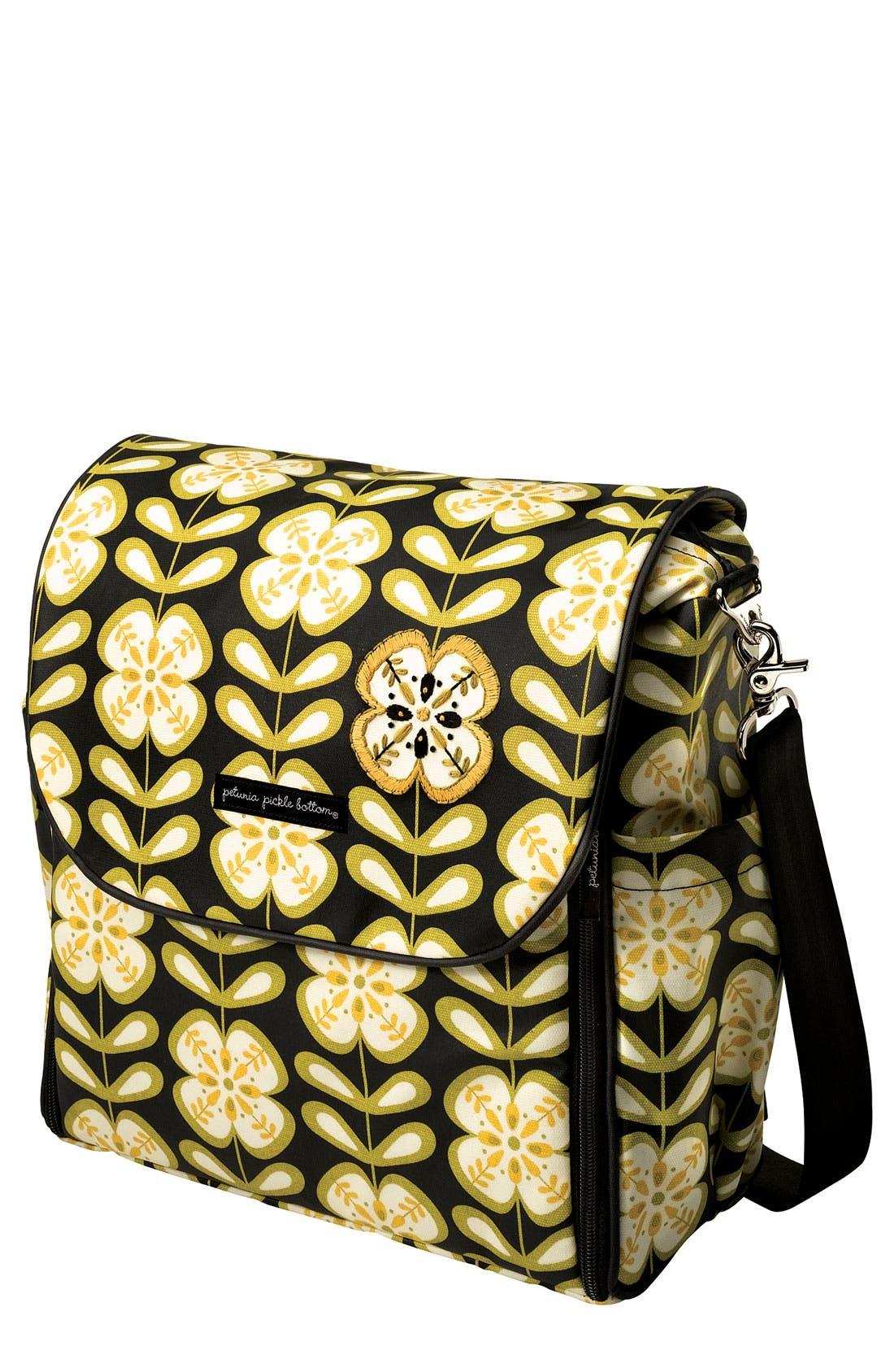 Main Image - Petunia Pickle Bottom 'Boxy Glazed' Diaper Bag