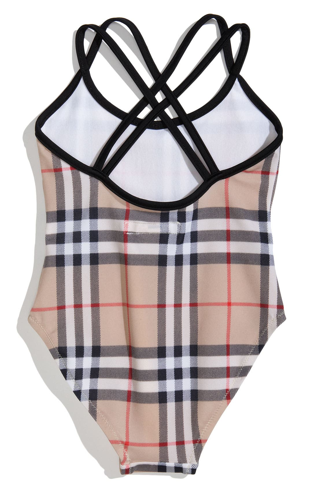 Alternate Image 2  - Burberry One Piece Swimsuit (Toddler)