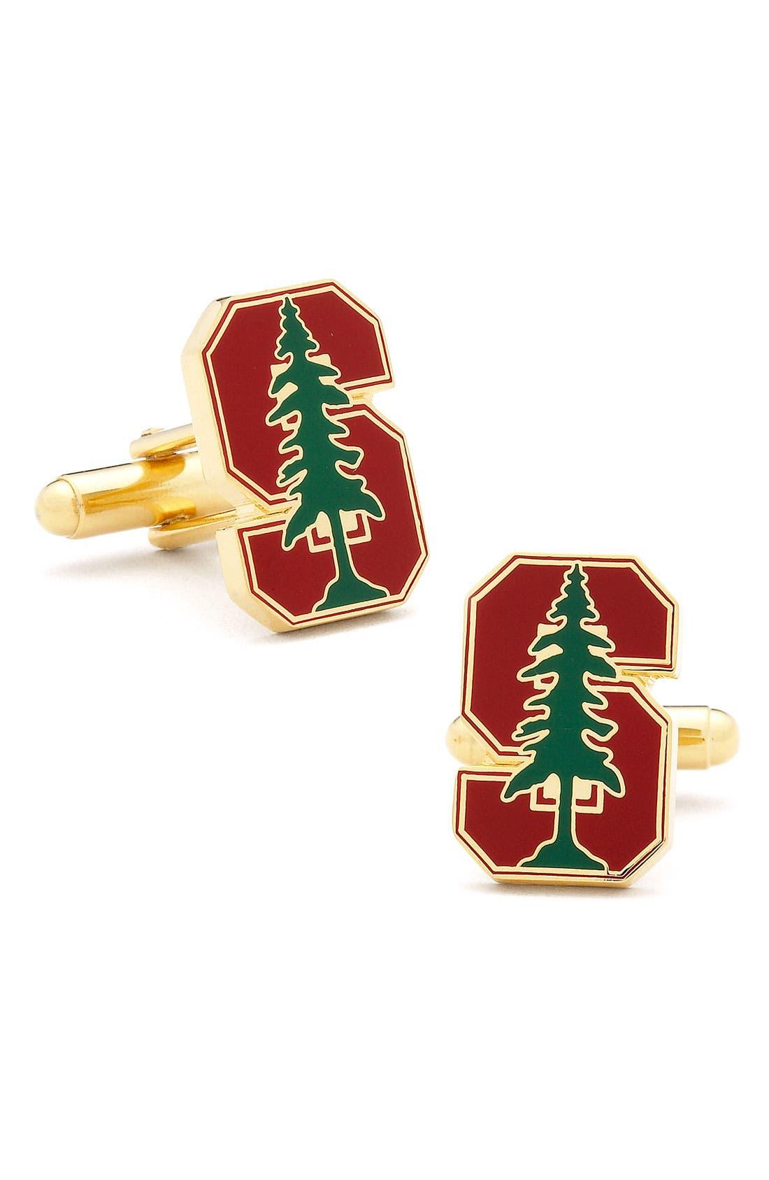 Main Image - Cufflinks, Inc. 'Stanford Cardinal' Cuff Links