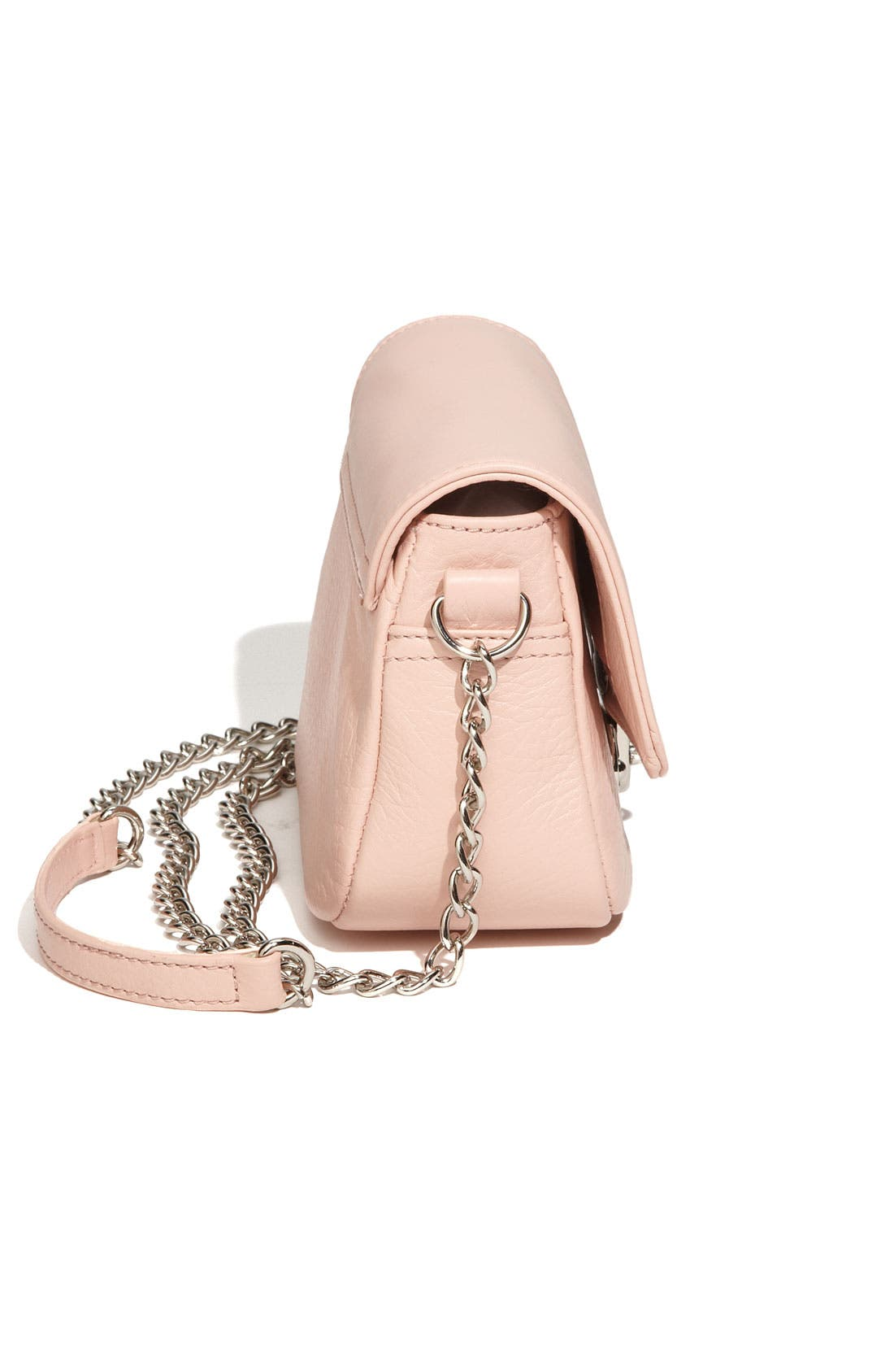 Alternate Image 2  - Franchi Leather Flap Crossbody Bag