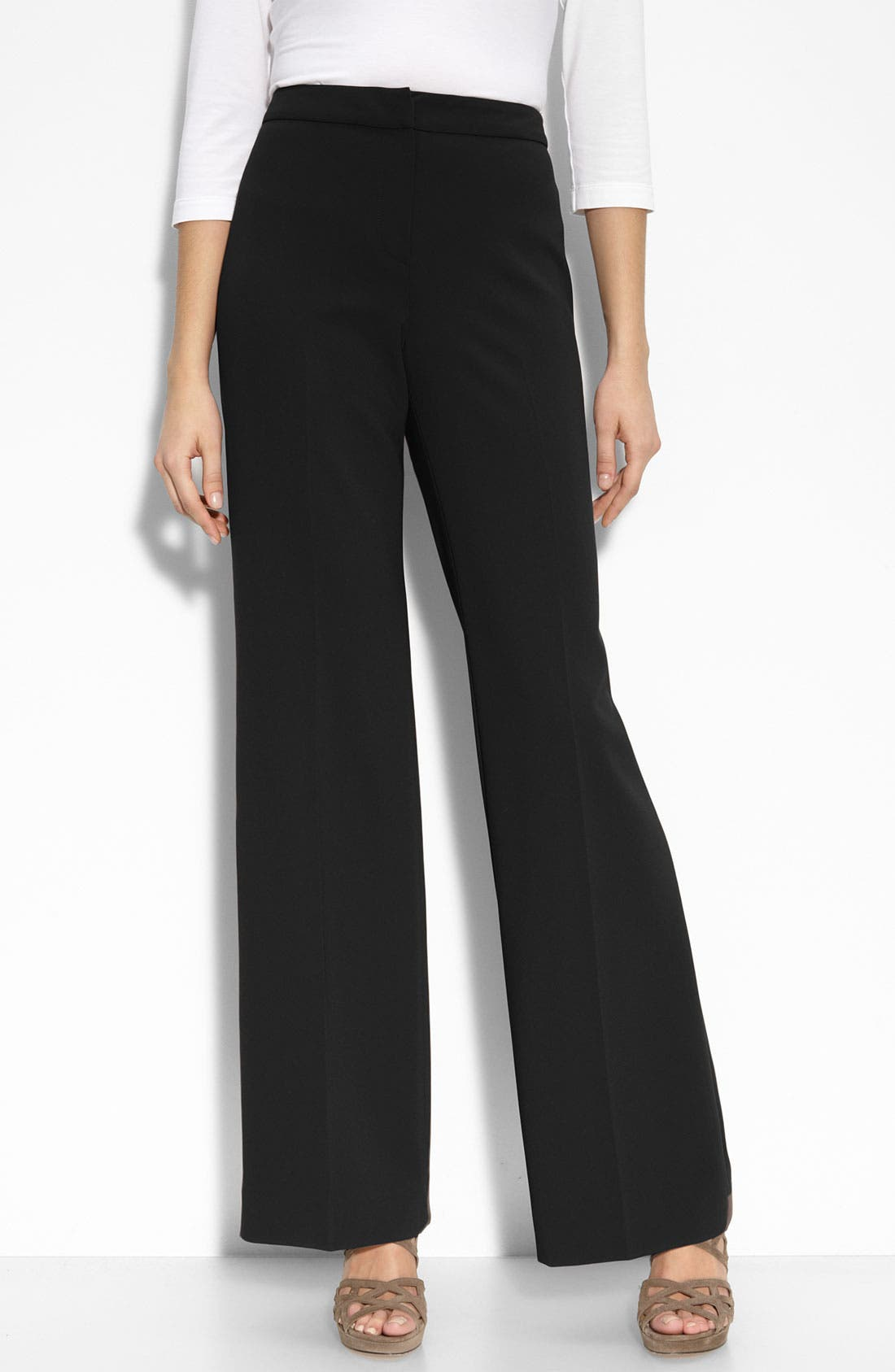 Main Image - St. John Collection 'Diana' Stretch Woven Pants