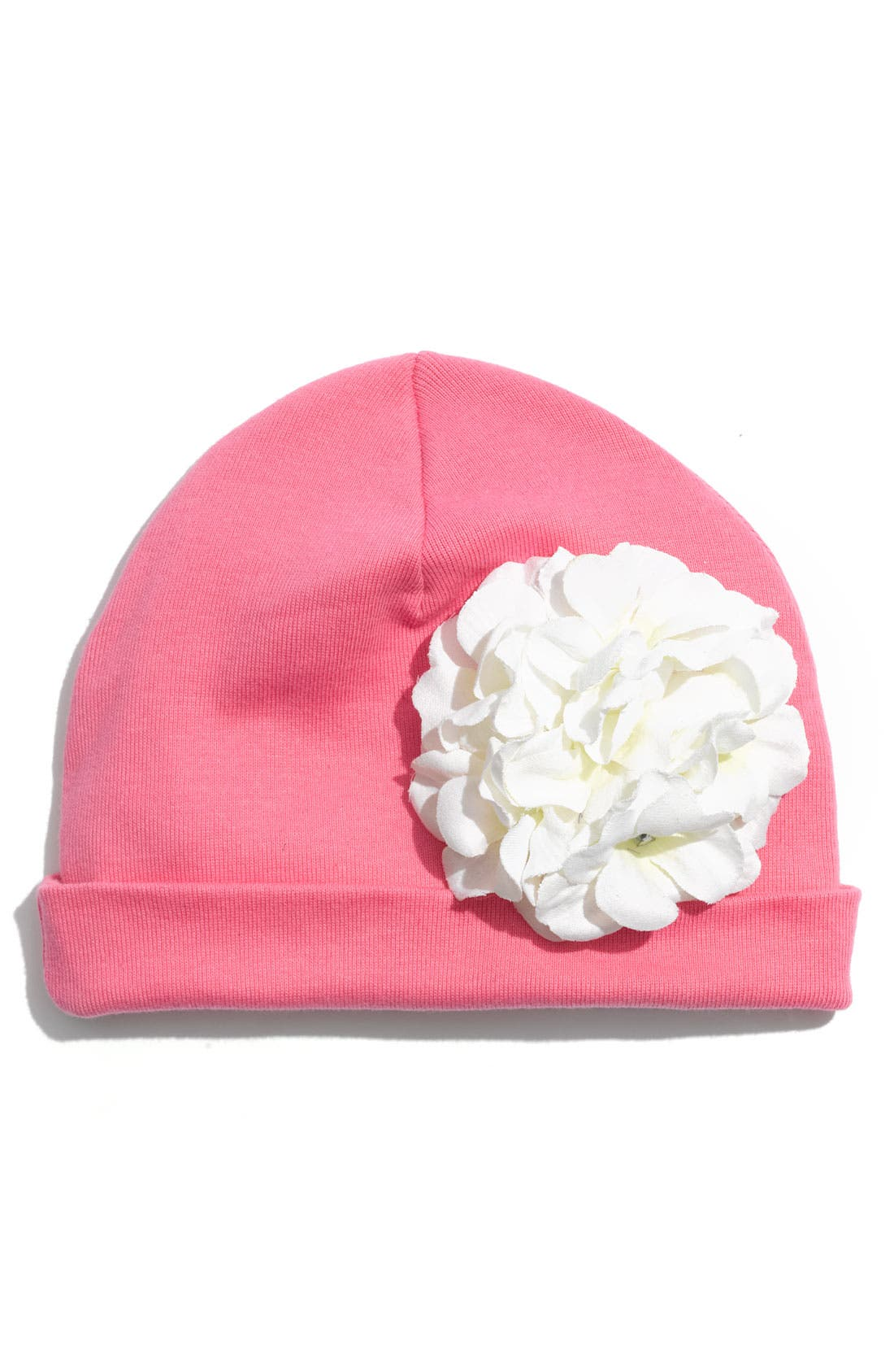 Main Image - Jamie Rae Hats Peony Hat (Infant)