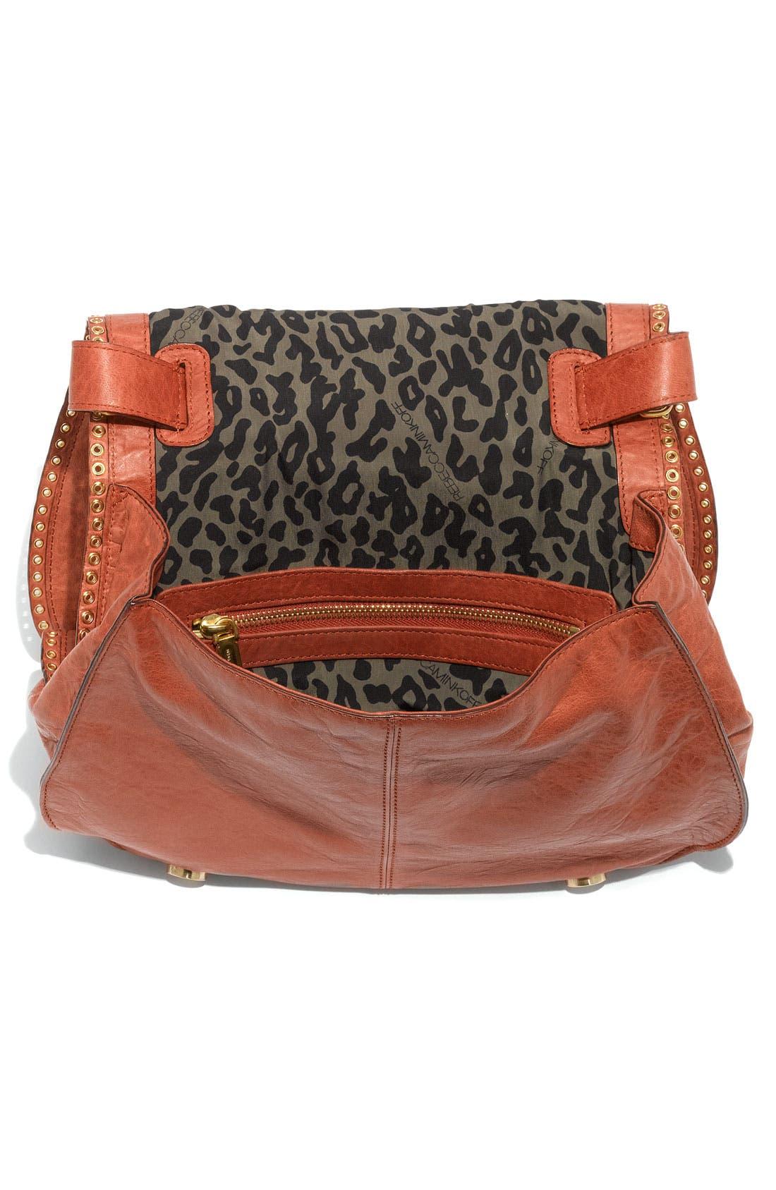 Alternate Image 3  - Rebecca Minkoff 'Vanity' Glazed Leather Crossbody Bag