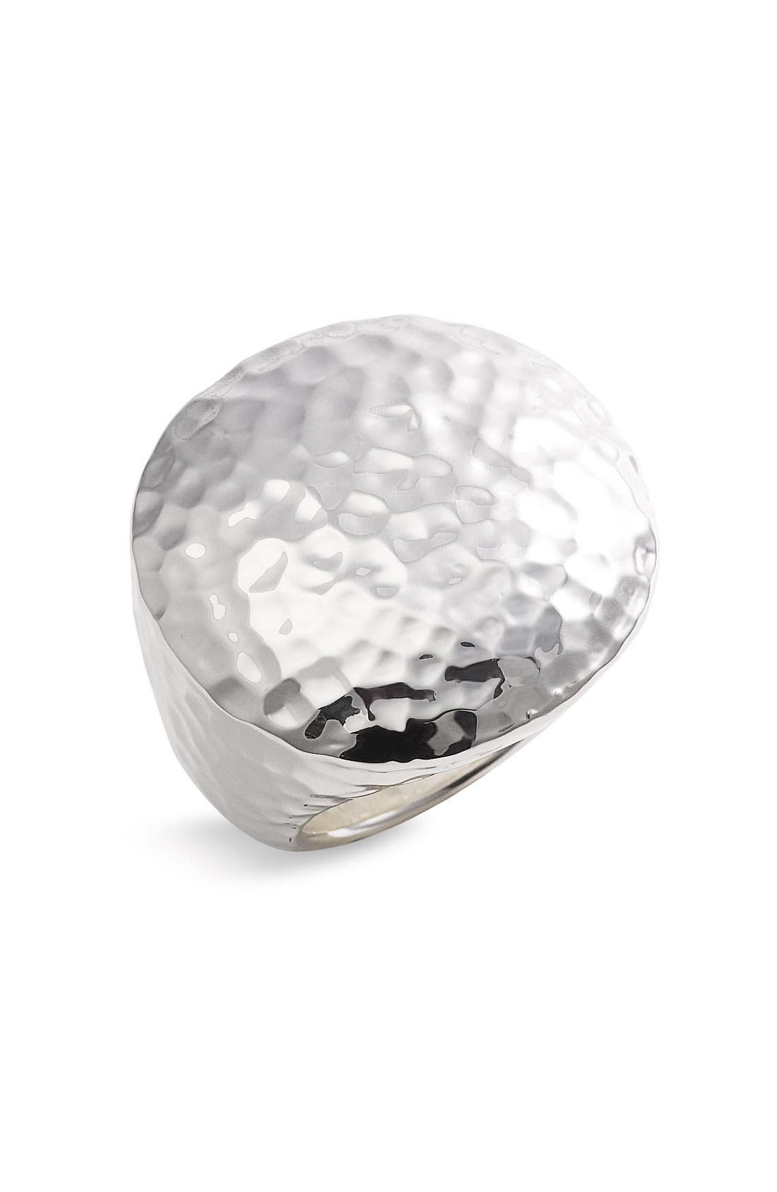 Alternate Image 1 Selected - Simon Sebbag Hammered Round Ring