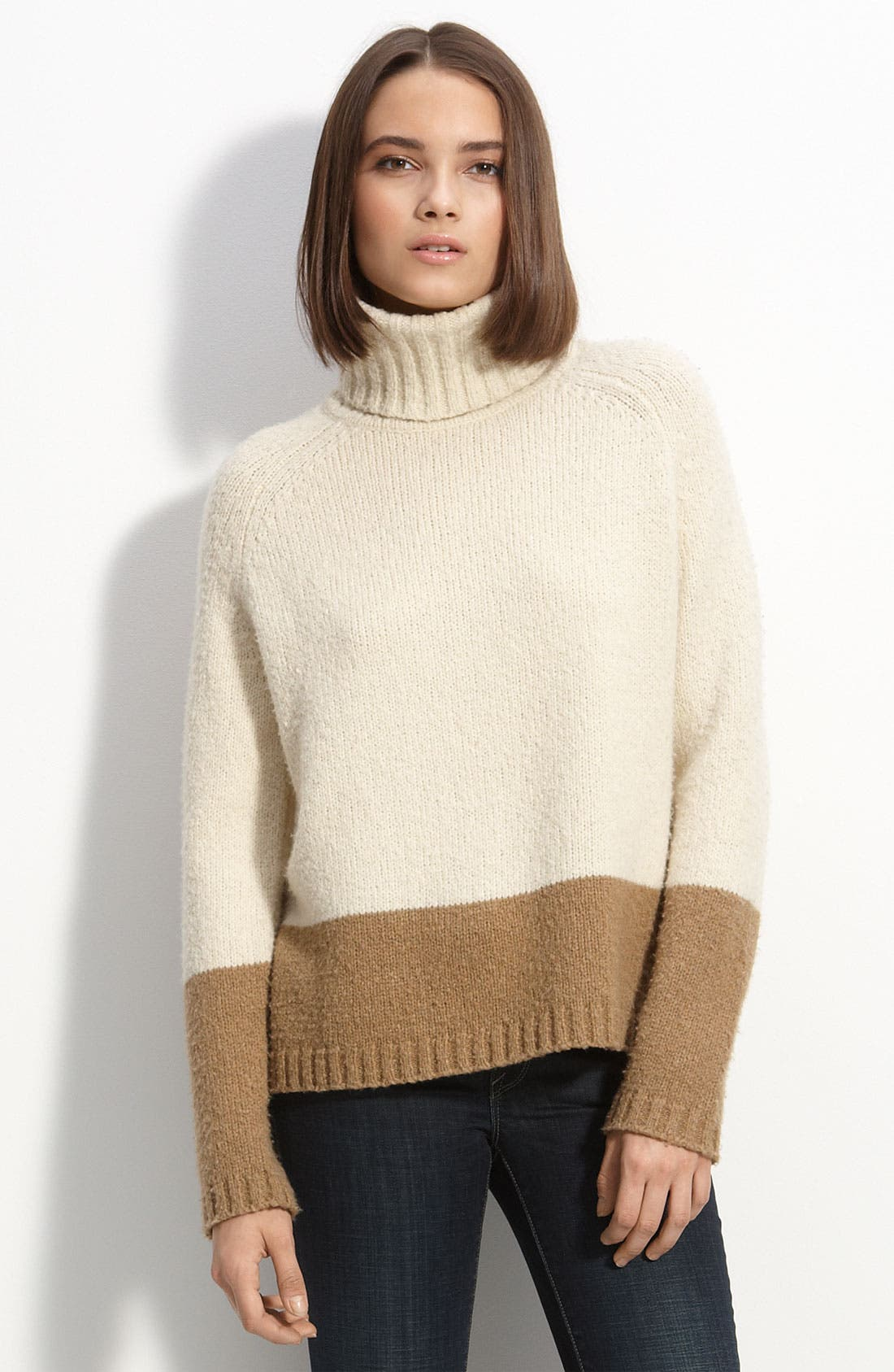 Alternate Image 1 Selected - Vince Colorblock Sweater