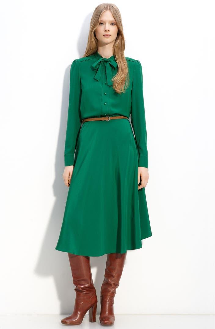 MARC BY MARC JACOBS 'Michaela' Silk Dress | Nordstrom