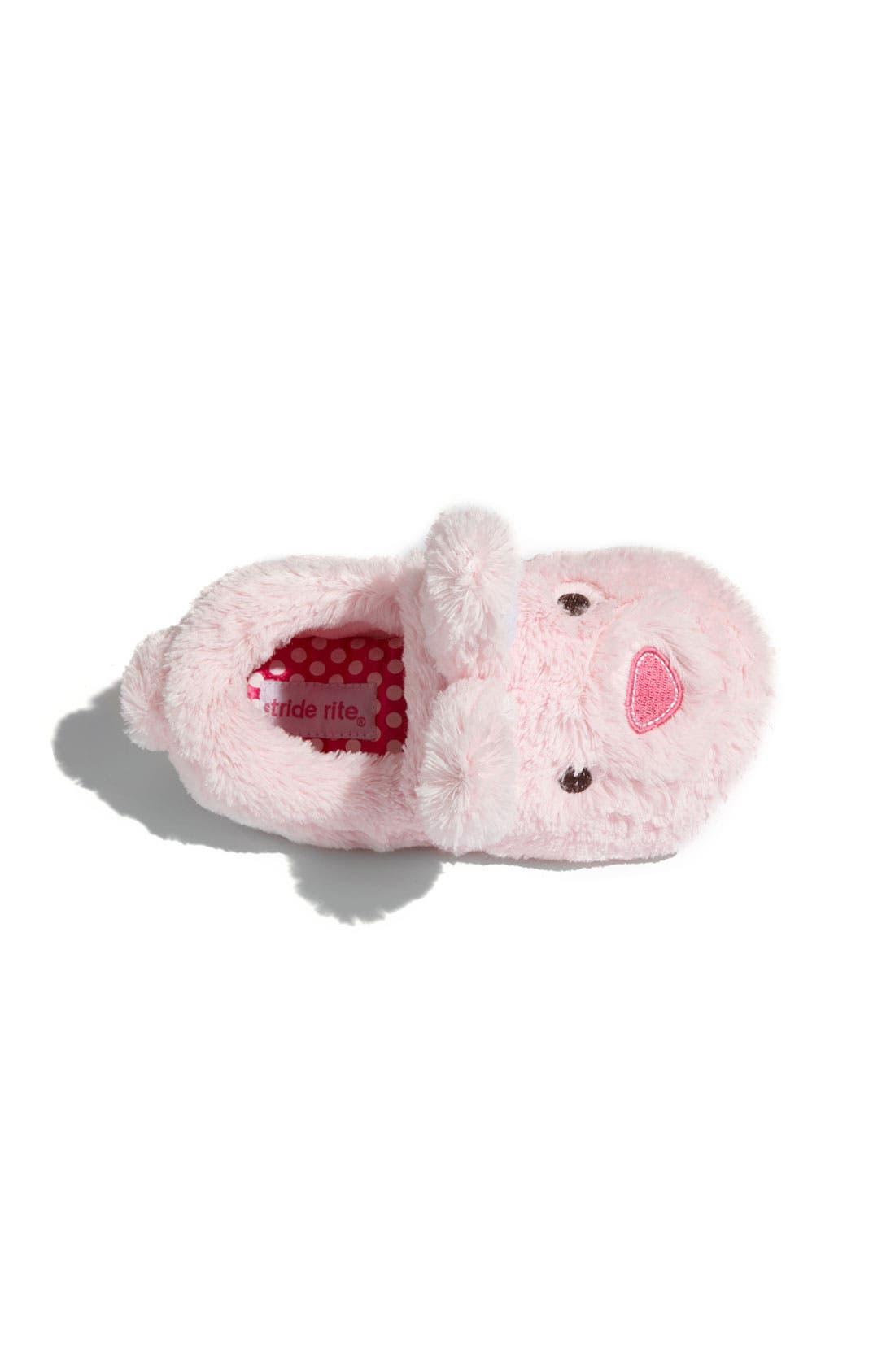 Alternate Image 4  - Stride Rite 'Fuzzy Animal' Slipper (Walker, Toddler, & Little Kid)