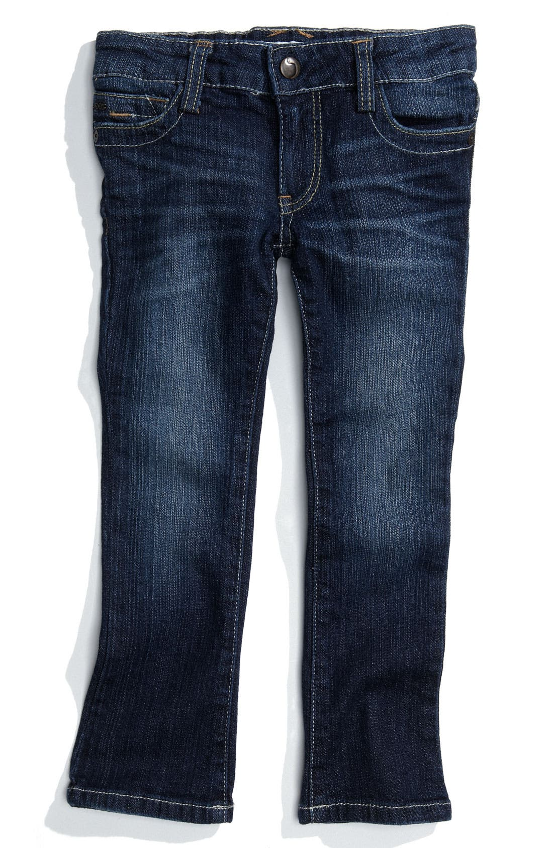 Alternate Image 2  - Joe's 'Micro Flare' Jeans (Toddler Girl)