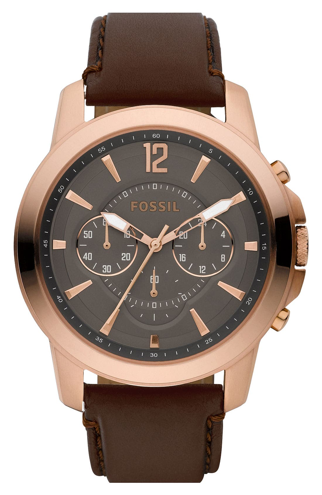 Alternate Image 1 Selected - Fossil Chronograph Watch