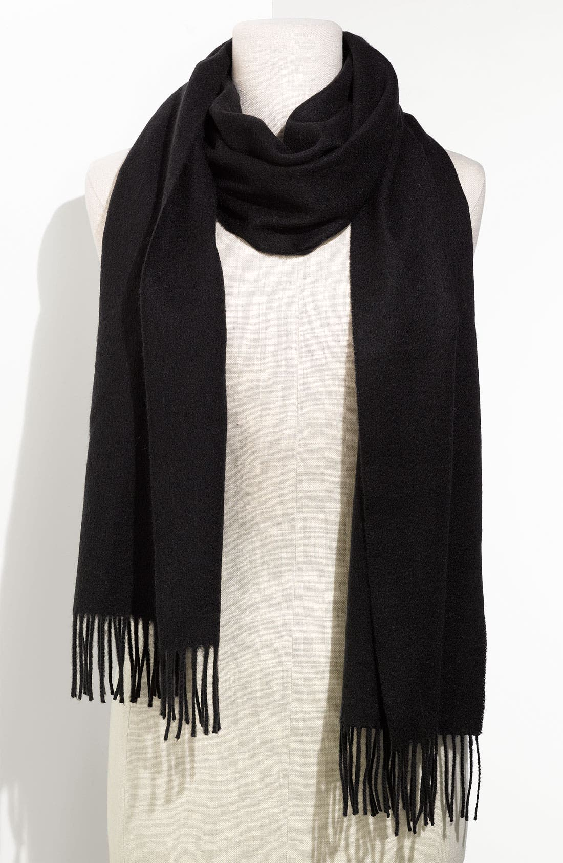 Alternate Image 1 Selected - Burberry Solid Cashmere Muffler