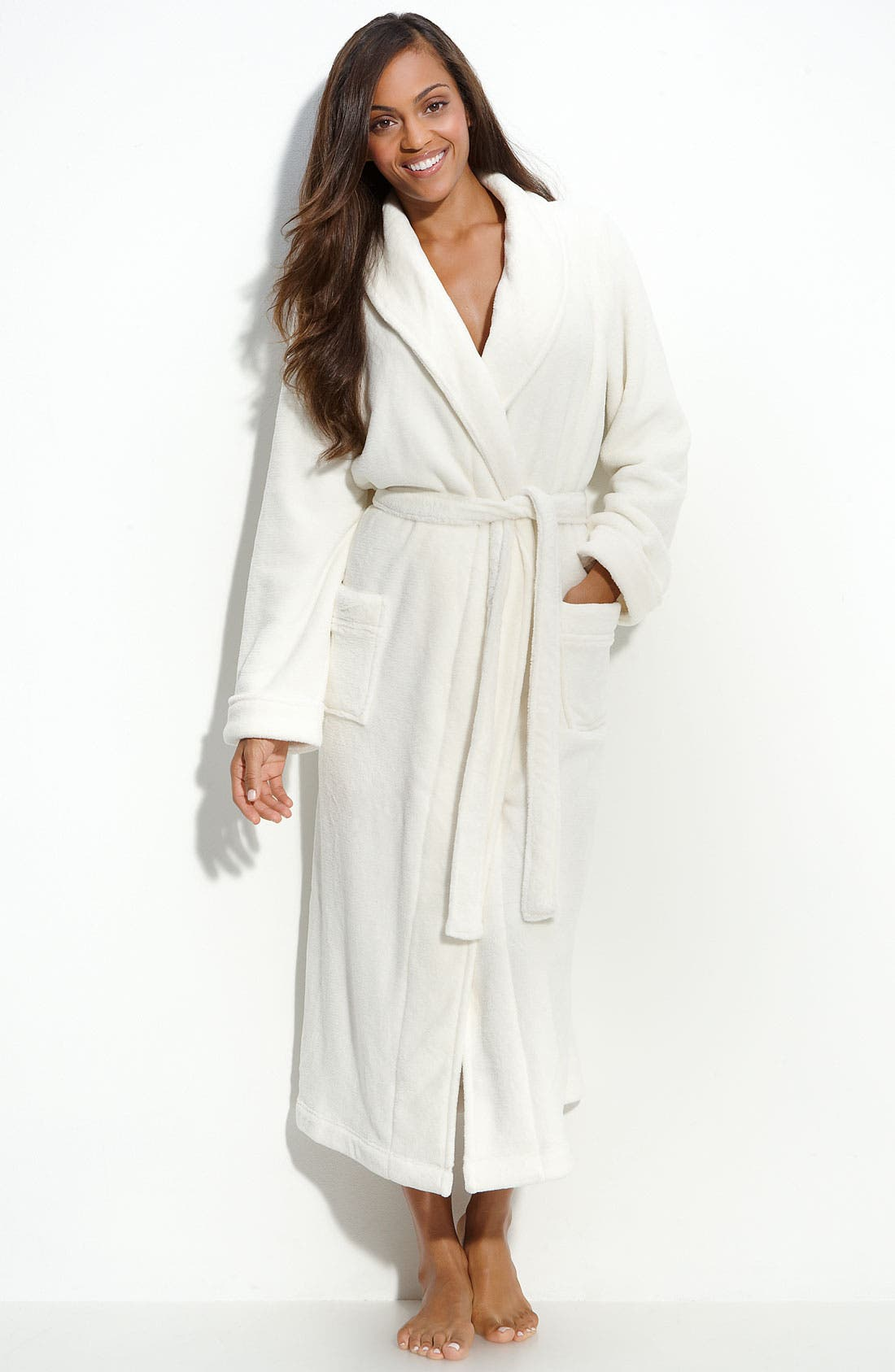 Alternate Image 1 Selected - Nordstrom 'Powder Plush' Robe