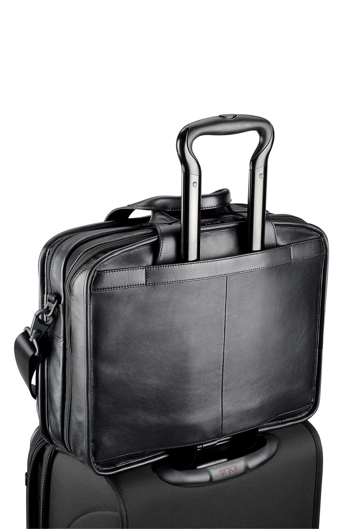 Alternate Image 5  - Tumi 'Alpha - T-Pass™' Organizer Leather Briefcase