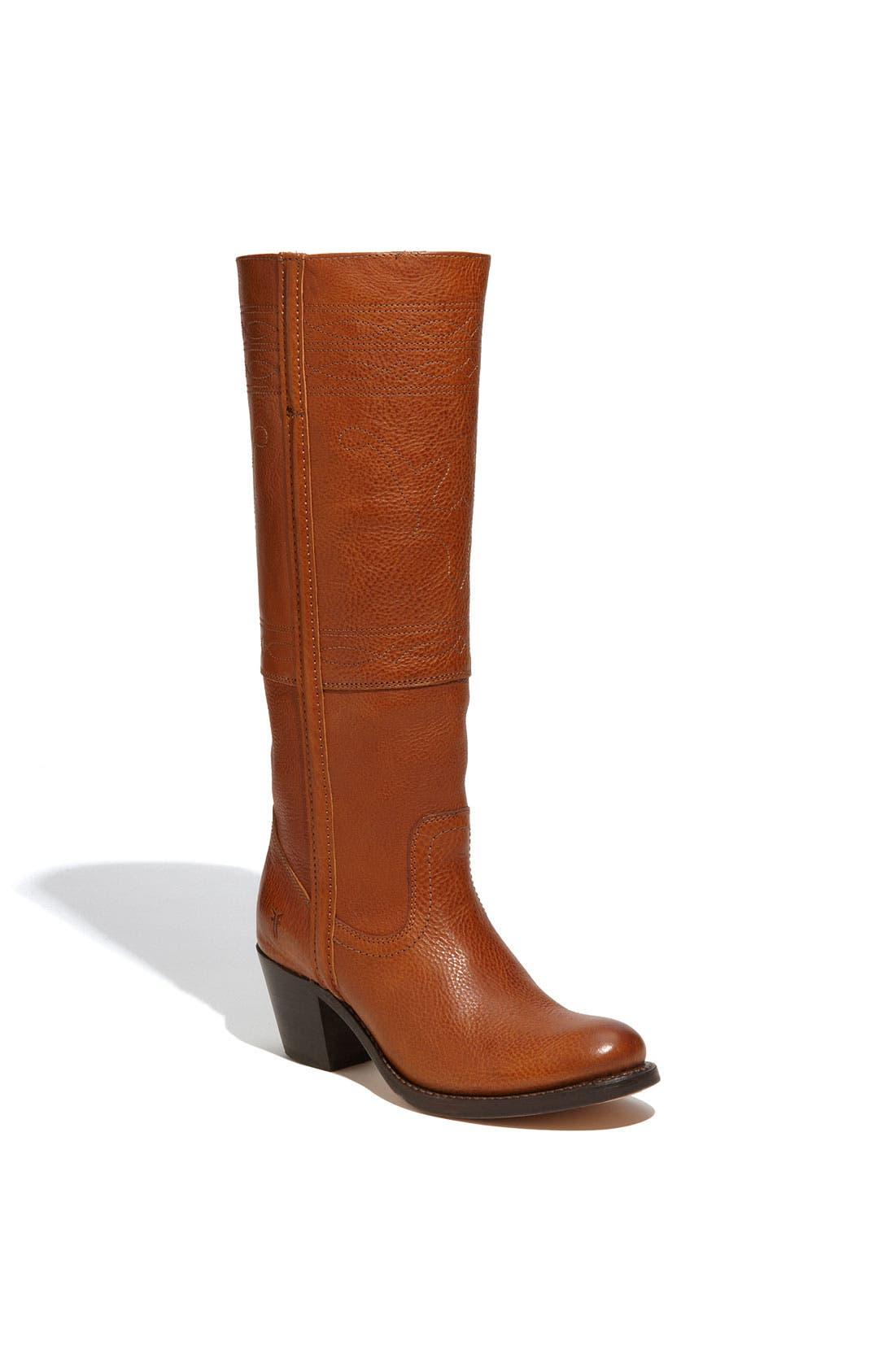 Alternate Image 1 Selected - Frye 'Jane Stitching Horse' Boot