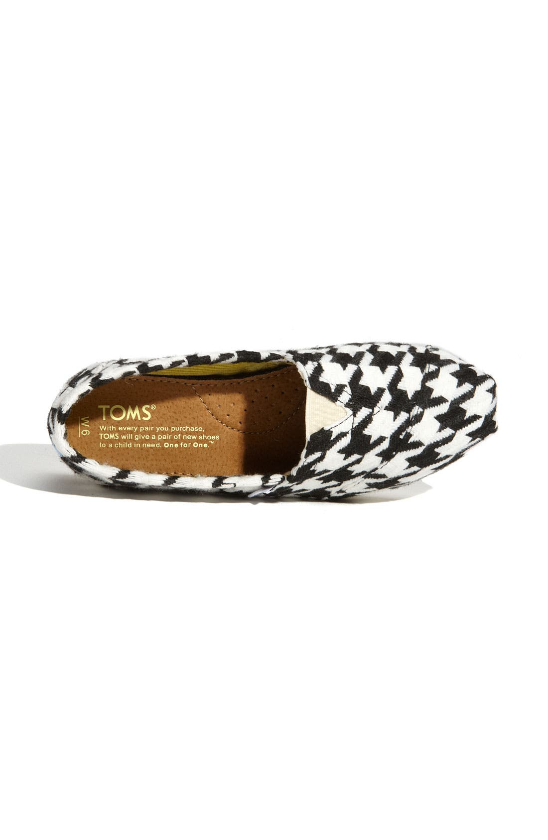 Alternate Image 3  - TOMS 'Classic - Scottish Houndstooth' Slip-On
