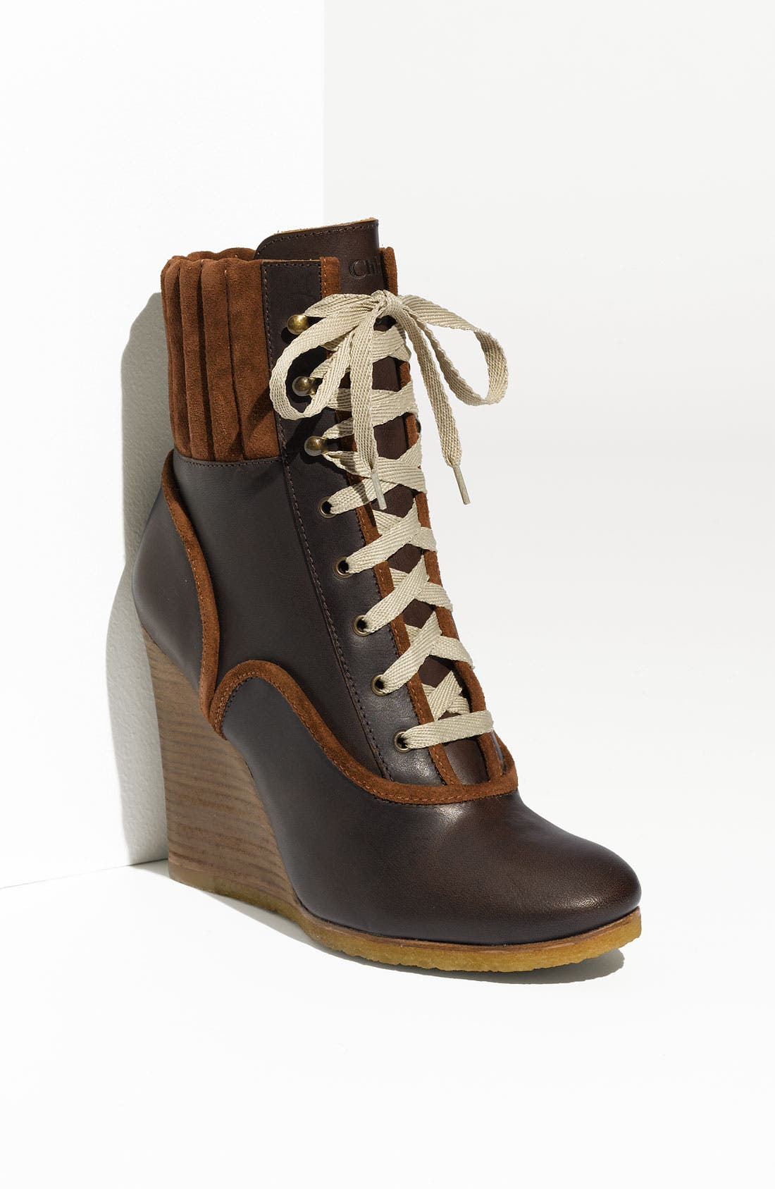 Alternate Image 1 Selected - Chloé Wedge Bootie