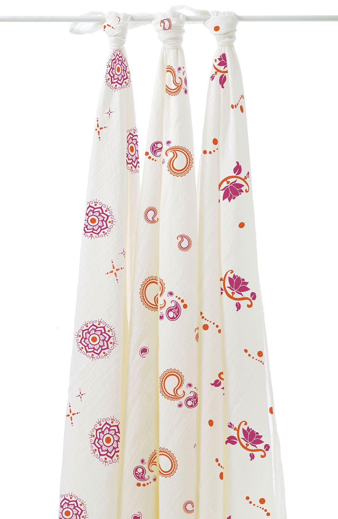 Alternate Image 1 Selected - aden + anais Swaddling Blankets (3-Pack)