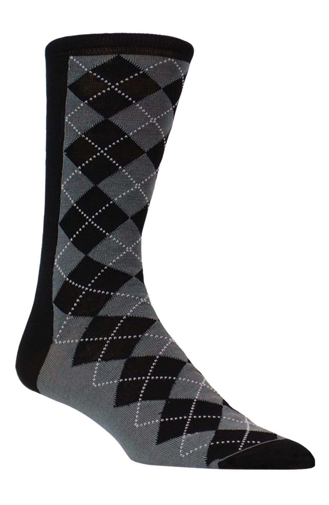 Main Image - Bugatchi Uomo Argyle Socks