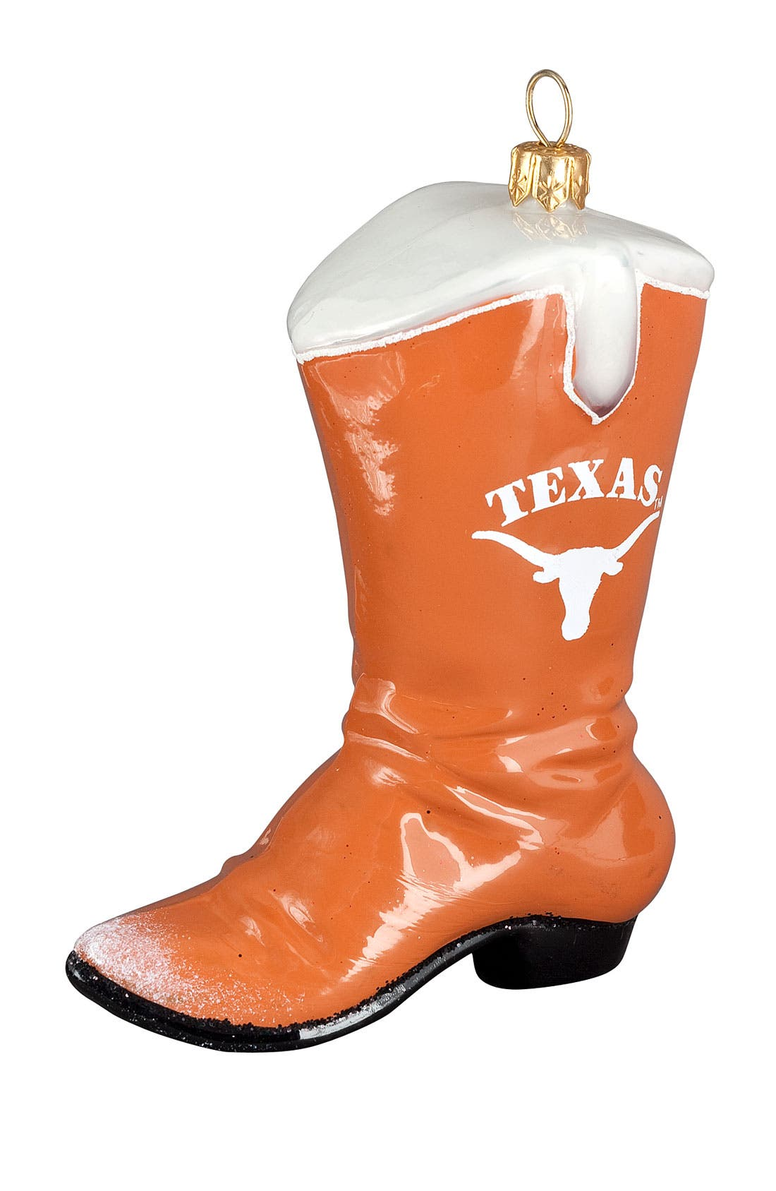 Alternate Image 1 Selected - Joy to the World Collectibles 'Texas Longhorns Boot' Ornament