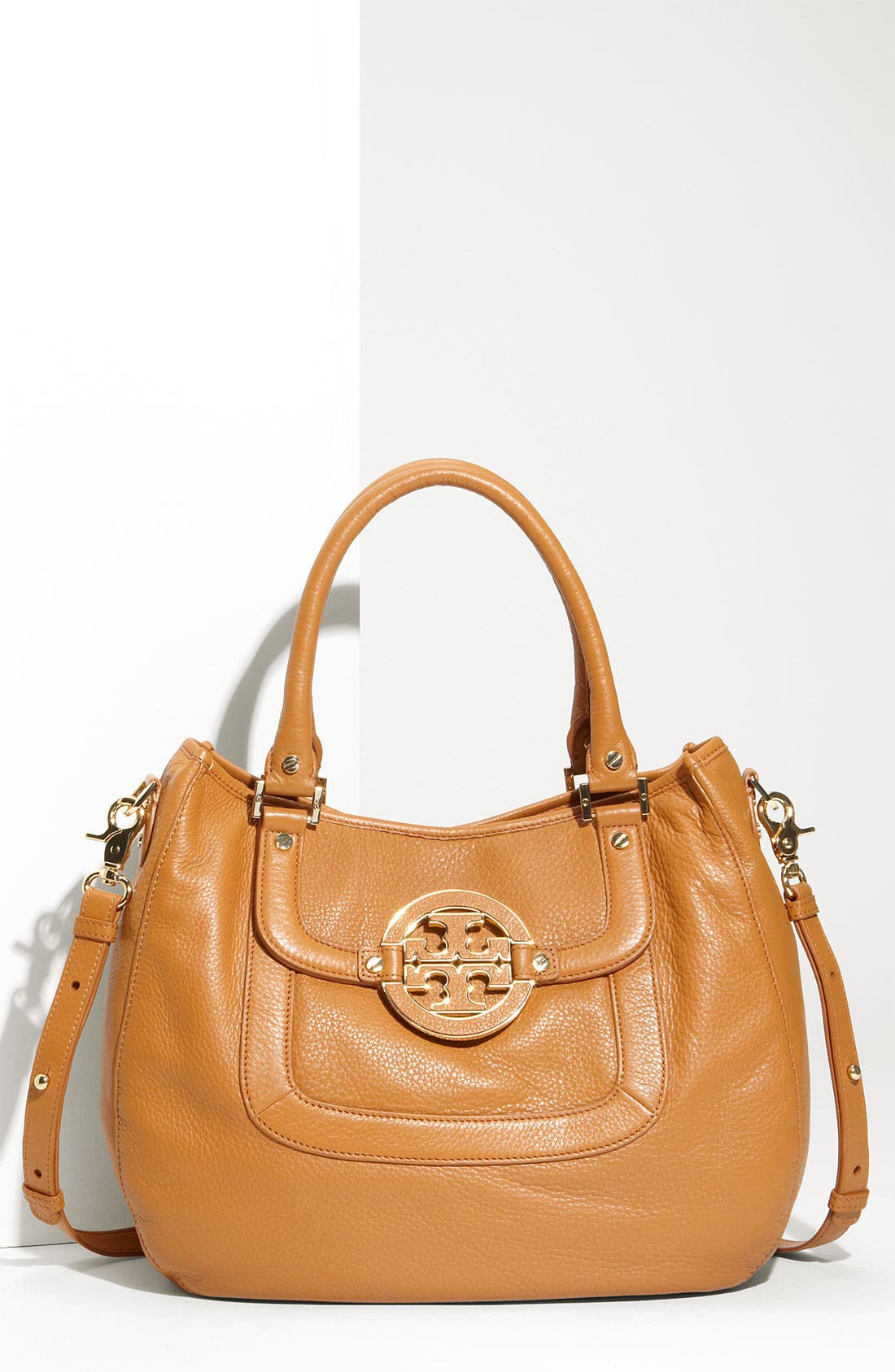 Alternate Image 1 Selected - Tory Burch 'Amanda' Leather Hobo