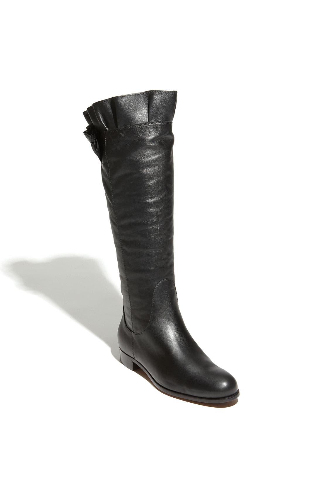 Main Image - Moschino Cheap & Chic Ruffled Leather Boot