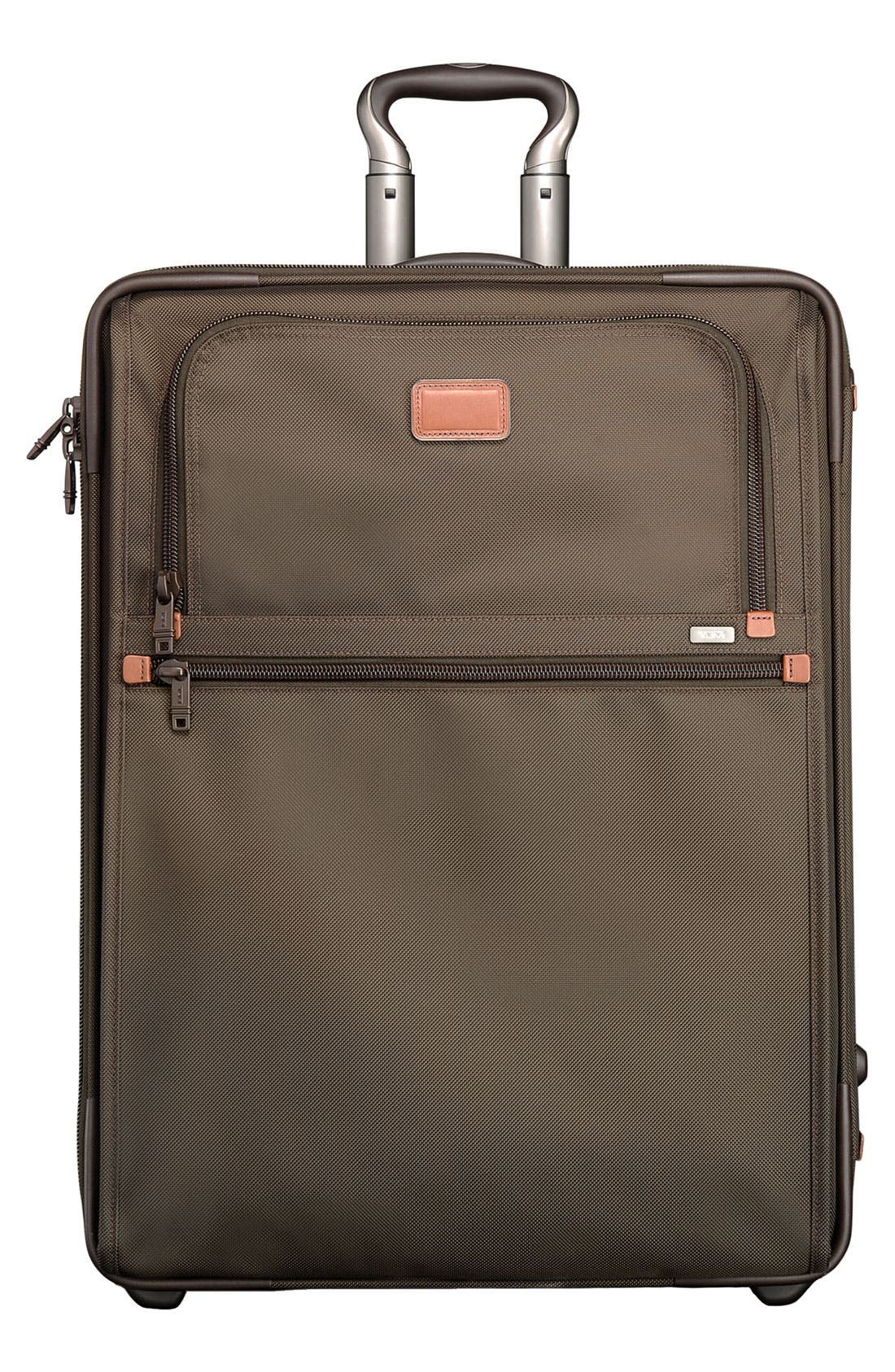 Alternate Image 1 Selected - Tumi 'Alpha' Wheeled Expandable Short Trip Bag
